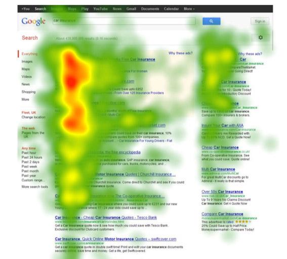 vysledky-pruzkumu-spolecnosti-Bunnyfoot-zacetek-roku-2013-kam-klikaji-navtesvnici-google